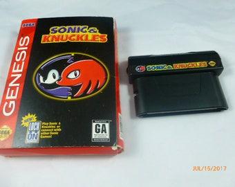 Sonic & Knuckles Genesis Sega Game