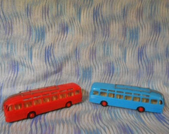 Two  PEGASO Buses 1:88 Scale-Vintage