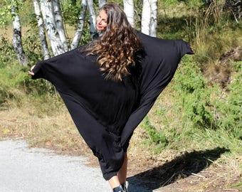 SALE ON 20 % OFF Black Maxi Dress, Casual dress, Plus size dress, Plus size clothing, Abaya, Party dress, Day dress, Xxxl Xxxxl dress