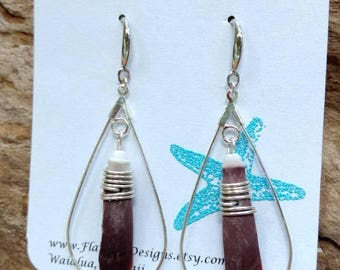 Sea Urchin Spine Earrings