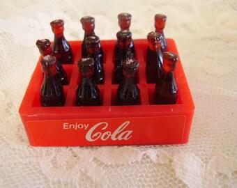 DOLLHOUSE COCA COLA Case/Bottles