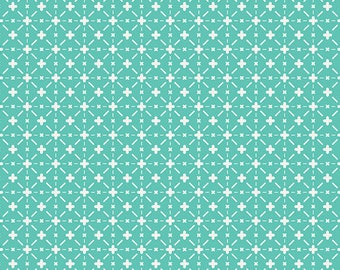 Nordica Fabric Fabric/Nordic Flowers on Mint/Jeni Baker/Art Gallery Fabrics/Cotton Sewing Material/Quilting, Clothing/Yardage/By The Yard