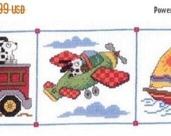MARCH MADNESS Imaginating Dog Gone Travels Cross Stitch Pattern