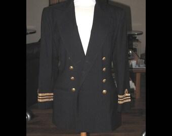 Nautical black Ralph Lauren blazer size S/M