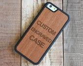 Custom iPhone 7 Case, Rosewood iPhone 7 Custom Case - FREE USA Shipping