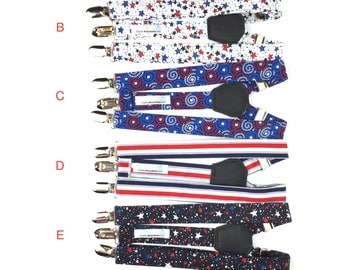 Suspenders-Independence Day  Adjustable Suspenders