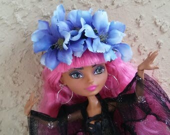 Flower Crown for Monster Ever After Dolls Pastel Goth Crown