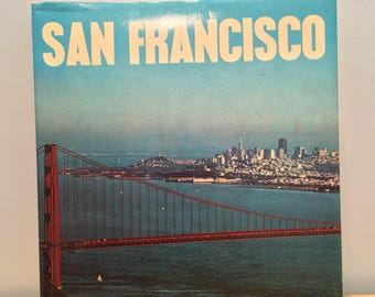 Vintage San Francisco Coffee Table Book- 1977, Made in Italy