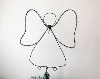 Christmas Angel Tree Topper ornament