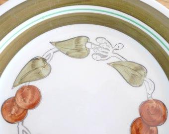 Three Soup Bowls from Gefle Julia -  Set of Three Swedish Vintage 1970s Handpainted Scandinavian