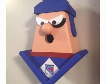New York Rangers Birdhouse