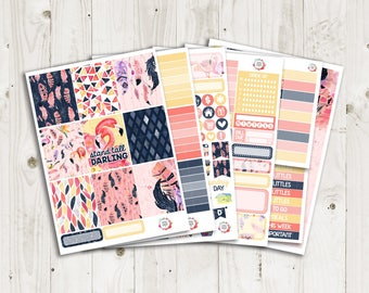 Stand Tall Vertical Weekly Kit - ECLP, TN, Personal, Happy Planner Stickers