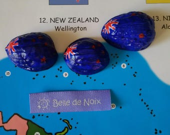 Flag Magnet in the world New Zealand