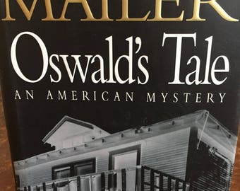 Book, Oswalds Tale, An American Mystery, Novel, Norman Mailer, Vintage, JFK, Retro Nook, Antique Discoveries