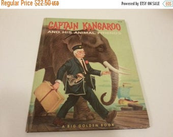 Captain Kangaroo and His Animal Friends Hard Cover Book - 1959
