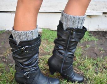 Crochet Cuff - Boot Toppers - Crochet Boot Cuffs - Boot Covers - Leg Warmers - Made to Order - Boot warmer - Boot Cuffs - Boot Socks -