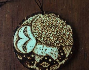 Owl-An original Wood Burning picture, decoration