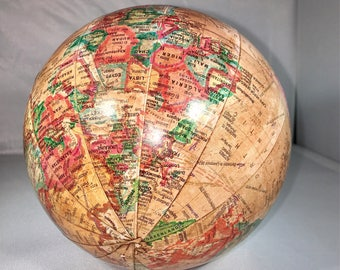 Vintage Old World Globe