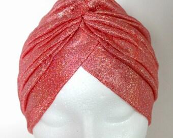 Turban, Ladies Turban, Turban for Woman, Front Twist Turban, Beautiful Turban, Pretty Turban Headband, Sparkly Turban, Fancy Turban