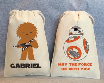 """24- Star Wars Party, Star Wars party Favor Bags,Star Wars favors, 4""""x6"""" NEW STAR WARS"""