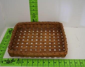 Handmade letter basket