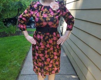 Rockin' Rose Dress