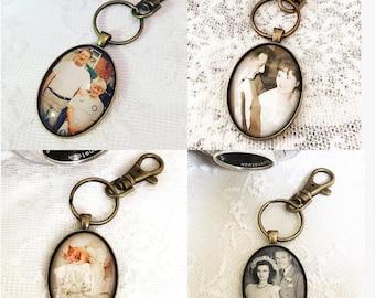LARGE MEMORY PHOTO|Photo Keyring|Photo Keepsake|Custom photo keyring|Photo Keychain|Family Photo Keyring|Family Gift|Birthday Gift