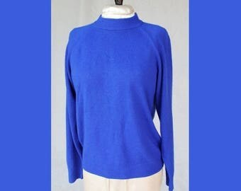 Spectacular Sale 25% off Cobalt Blue Sweater by Hampshire Studio