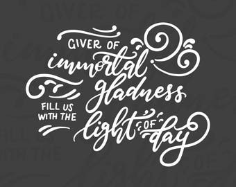 Giver of Immortal Gladness