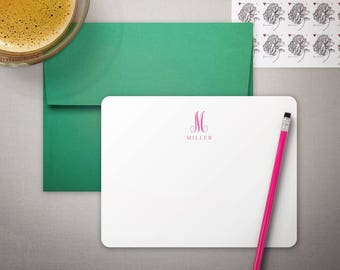 Personalized Stationary | Gift for Her | Mothers Day Gift | FAMILY MONOGRAM | Monogrammed Stationery | Stationary Set | idesignthat