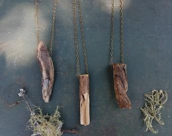 Wooden Talisman Necklace
