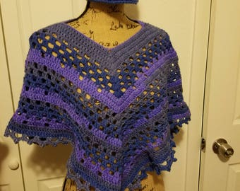 Ladies Dixie Charm Poncho size Xsmall to Large