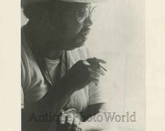 Cannonball Adderley hard bop jazz saxophone player vintage music photo