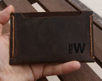 Front Pocket Wallet Personalized Wallet For Men Minimalist Wallet Men Slim Wallet Card Holder Wallet Custom Mens Leather Wallet Rustic