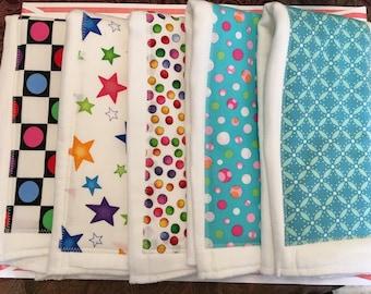 Handmade Diaper Burp Cloths - Baby Burp Cloths - Diaper Cloth - Quiltsy Handmade