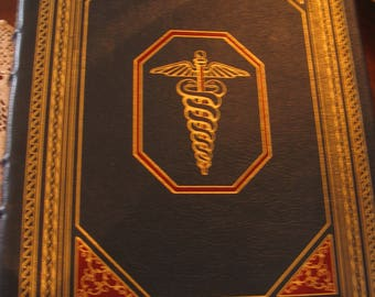 Easton Press Leather Bound MEDICINE A Treasury of Art and Literature, Collector's Edition by Charmichael and Ratzan, Copyright 2000