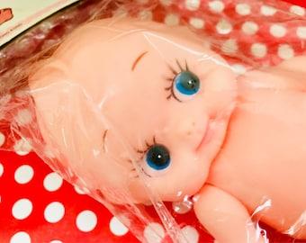 Vintage Rubber Kewpie Kewtie Doll