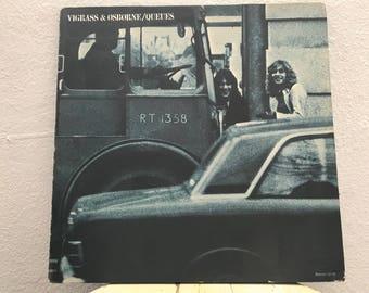 """Vigrass & Osborne - """"Queues"""" vinyl record"""
