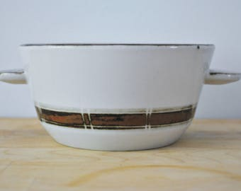 Desiree Denmark Lugged Bowl Scandinavian Modern Studio Pottery
