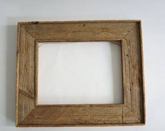 natural wood picture frame rustic cabin decor organic aged weathered drift wood style mirror frame empty wood frame 225 x 1875 - Natural Wood Frames