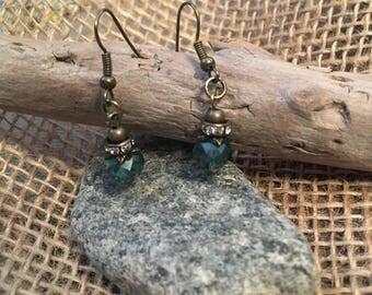 Puddle Jumper Beaded Dangle Earrings