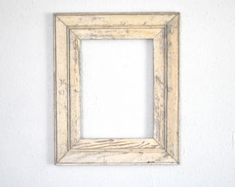 9 x 12 Old Texas Home Antique White Frame, Naturally Weathered and  Worn, Reclaimed and Re-purposed