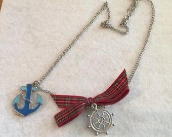 Necklaces as an air of sea and boat