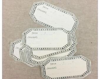 Lamp Journal Handmade Stickers