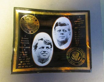 Small Class Memorial  of Robert Kennedy  and His Brother J.F.K. President