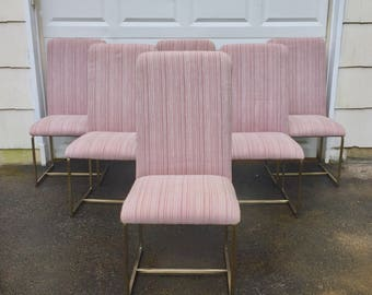 Set of Modern Dining Chairs for Design Institute of America
