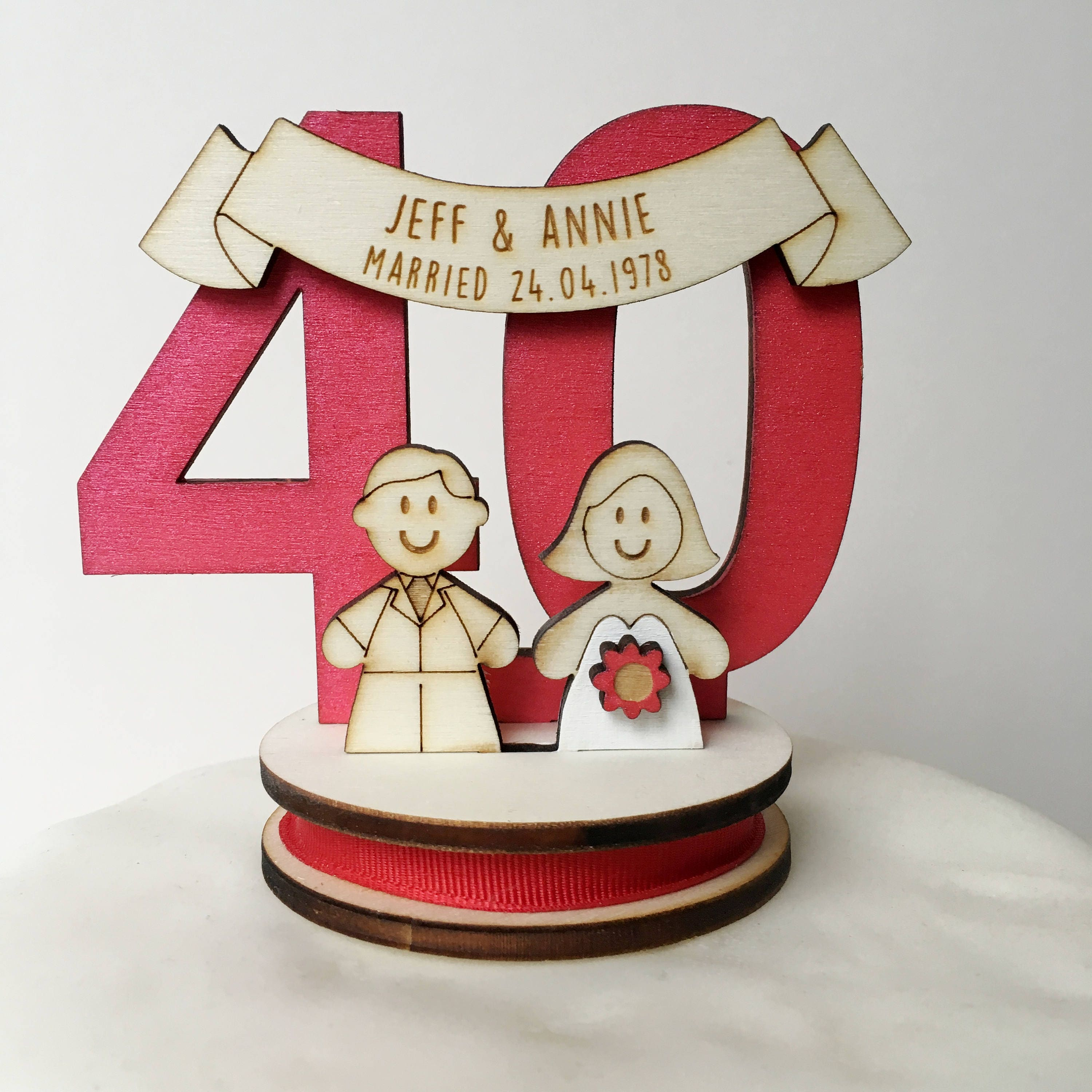 Personalised Cake Topper Figures Uk