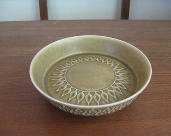 Quistgaard - RELIEF - Raised Bowl -  Mid century - Danish Pottery - Danish Modern