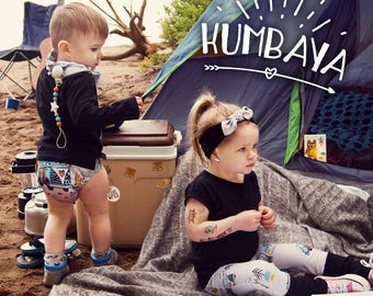 Temporary Tattoos - Kumbaya - Camping Car