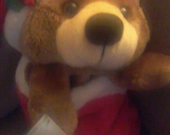 Plush Velour Smithy Christmas Stocking/Teddy Sac